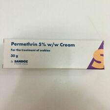 Treatment of Scabies Permethrin Cream - 2x 30g