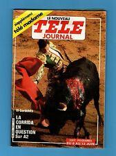 ►TELE JOURNAL 341/1981 - EL CORDOBES - SOPHIE FAUCHER - BINAME - DOROTHEE