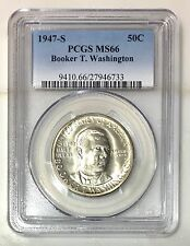 1947 S Booker T Washington Half Dollar PCGS MS66 ***Rev Tye's*** #6733103