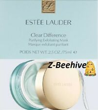 Estee Lauder Clear Difference Purifying Exfoliating Mask 2.5 oz Sealed Skin Renu