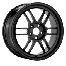 17x9 Enkei RPF1 5x114.3 + 45 Black Wheels (Set of 4)
