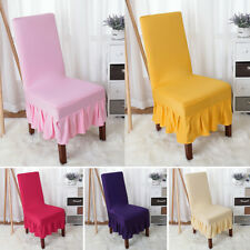 Wedding Banquet Chair Cover/Stretch Seat Slipcover for Dining Room Party Decor