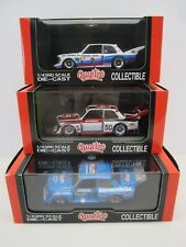 Lot of 3 1:43 BMW 320i Gr.5 DRM [Quarzo 3023+3035+3037] ULTRA RARE never unboxed