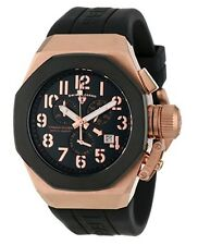 Swiss Legend 10542-RG-01-BB Mens Trimix Diver Black Chronograph Watch NEW in Box