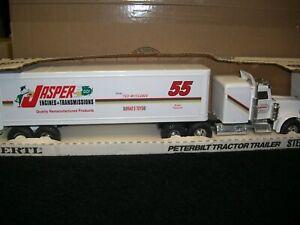 1/25 ERTL Peterbilt Tractor Trailer #55 Jasper Engines 1 of 618