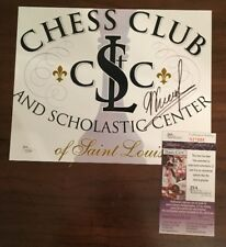 Signed Autographed 8 X 10 Photo Picture Chess Champion Garry Kasparov JSA COA