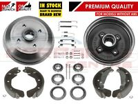 FOR VAUXHALL CORSA B NOVA TIGRA REAR BRAKE DRUMS SHOES FITTINGS BEARINGS NON ABS