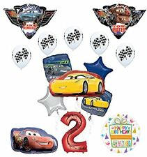 "Disney Pixar Cars ""3"" 2nd Birthday Party Supplies"