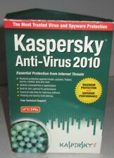 Kaspersky Anti-Virus (PC, 2010) Essential protection from Internet Threats Used