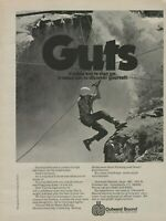 1978 Outward Bound Mountaineering Photo Mountain Climber Vintage Print Ad