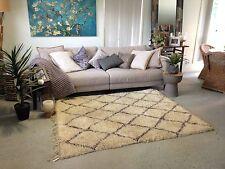 Quality Authentic Moroccan Vintage Beni Ourain Carpet/Rug 1.65m x 2.05m