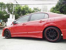 HONDA Civic Hybrid CR-V CR-Z FR-V HR-V CRX FELGENSCHUTZ & Styling Felgenringe