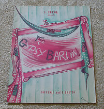 S. Hurok New York City Opera Co. 1944 Gypsy Baron Souvenir and Libretto Program