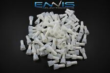 10-12 GAUGE 50 PK  CLOSE END CRIMP CAPS NYLON  HOME CONNECTOR TERMINAL CAR