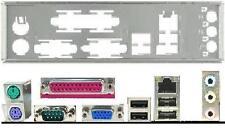 ATX panneau I/O shield Asus p5g41c-m LX #36 Io nouveau Backplate bracket NEW