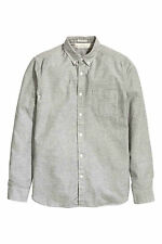 H&M Patternless Casual Shirts & Tops for Men