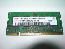 Barrette mémoire HYNIX 1 GO SO-DIMM DDR2 PC2 6400S