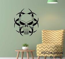 Punisher Skull Wall Murals Vinyl Sticker Logo Decal graphics Kids Gamer room art