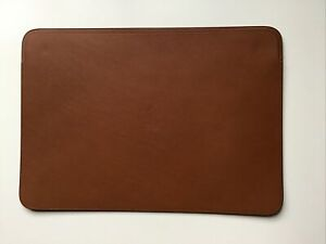 "Genuine Apple Macbook Pro / MacBook Pro Retina 15"" Leather Sleeve Saddle Brown"