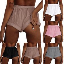 Women Shorts Elastic Waist Summer Beach Casual Loose Yoga Fitness Hot Pants Sexy