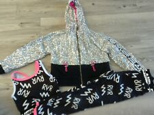 RIVER ISLAND GIRLS SMALL BUNDLE / OUTFT AGE 7-8YRS TOP LEGGINGS JACKET