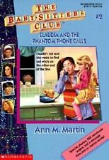 Claudia and the Phantom Phone Calls (Baby Sitters Club, No 2)-ExLibrary