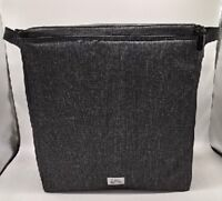 Thirty one large thermal picnic lunch bag insert 31 gift in Charcoal Crosshatch