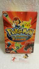 Coffret 3 DVD Pokemon New Generation Films Jirachi Celebi Deoxys TFOU Vidéo TF1