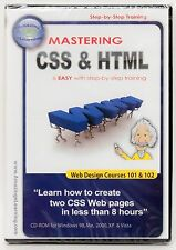 Amazing eLearning Mastering CSS & HTML learning tutorial software New and SEALED
