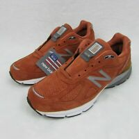 New Balance 990v4 Jupiter Burnt Orange Made in USA Shoe's M990JP4