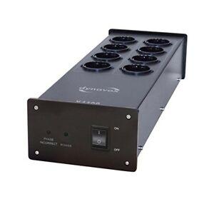 Dynavox Hifi Power Strip X4100B Black 8 Sockets (207410)