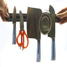 Wall Mount Magnetic Rack Strip Knife Scissor Storage Holder Kitchen Tool