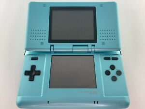 Nintendo DS original NDS - teal blue handheld console