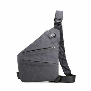 Shoulder Bags Crossbody Bag Multi-pocket Pouch Anti Theft Security Holster Bag