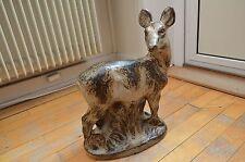 HUGE Royal Copenhagen Figurine Stoneware Deer Doe Family Knud Kyhn Figur 20552