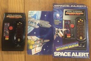 1978 Mattel Electronics Battlestar Galactica Space Alert Game Tested & Working