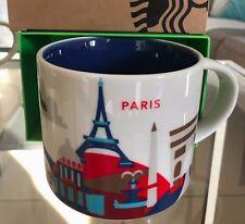 Starbucks Coffee 'You Are Here' PARIS YAH City Mug, France! :)
