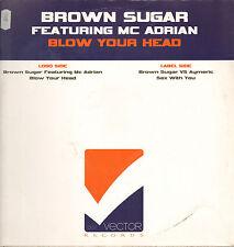 BROWN SUGAR - Blow Your Head - Feat Mc Adrian - Vector