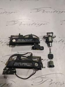 BMW E36 93-99 Coupe Door Lock Ignition Key Set OEM 318i 325i 328i