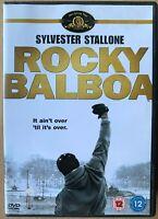 Rocky Balboa DVD 2006 Sylvester Stallone Boxing Boxer Drama 6 Film Movie Creed