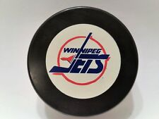 1991-92 WINNIPEG JETS NHL Official GAME PUCK Hockey InGlasCo non-approved