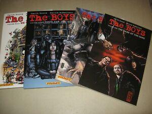 THE BOYS TRADE PAPER BACKS 1, 2, 3 & 4 (DYNAMITE COMICS) GARTH ENNIS