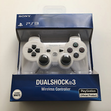 Sony Dualshock 3 - WHITE - Wireless Sixaxis PlayStation PS3 Remote Controller