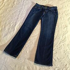Lucky Brand Blue Jeans Classic Rider Bootcut Stretch Denim Womens Size 6 / 28