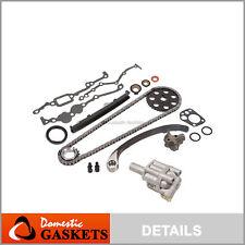Fit 89-97 Nissan D21 Pickup 240SX 2.4L SOHC Timing Chain Oil Pump Kit KA24E