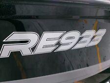 Boat Registration Number Sticker Custom Designed