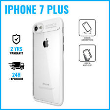 Armor Cover Cas Coque Etui Silicone Hoesje Case Black For iPhone 7 Plus White
