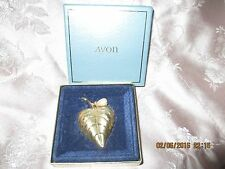 Vintage Avon Solid Perfume Compact in original box with perfume inside