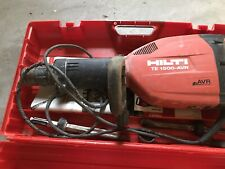 Hilti te-1500 AVR demolition jack hammer. very good condition, one owner
