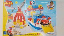 Bateau ferri 68 x 32 cm , ferry boat abrick, 3 - 5 ans,Ecoiffier, made in France
